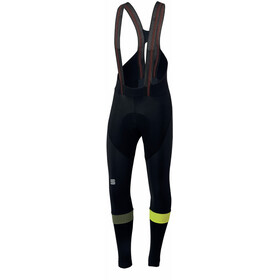 Sportful Bodyfit Pro Bibtights Men black/yellow fluo